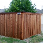 McKinney Fence- New Cedar Fence for McKinney customer