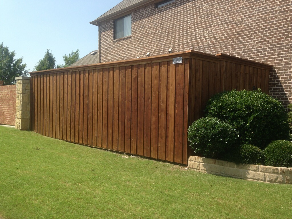 New Cedar 8 Foot Fence In Frisco Frisco Fence Llc
