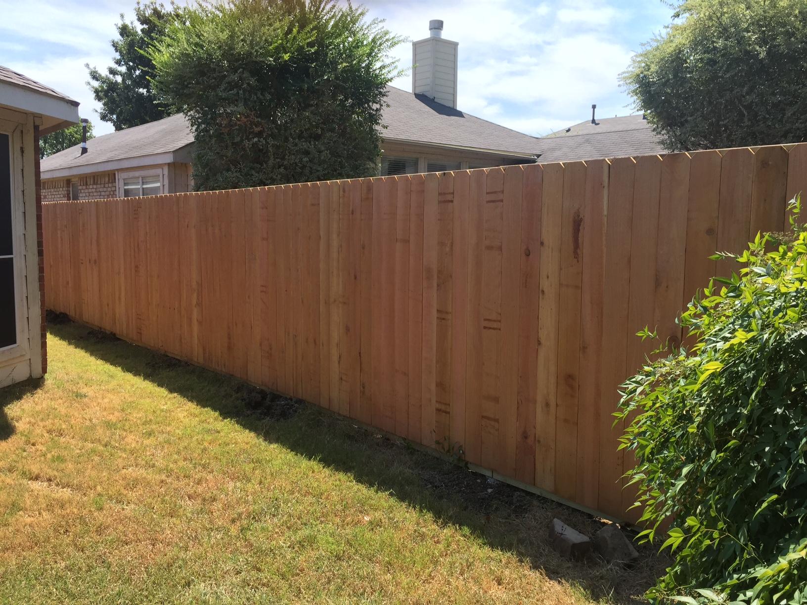 New Mckinney Fence For A Great Customer Frisco Fence Llc
