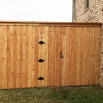 Awesome 8 foot Board on Board Cedar fence in Frisco