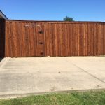 8 foot Fence w/ Trim in Frisco