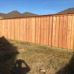 6 Foot Fence /w Double Cap Trim in Celina
